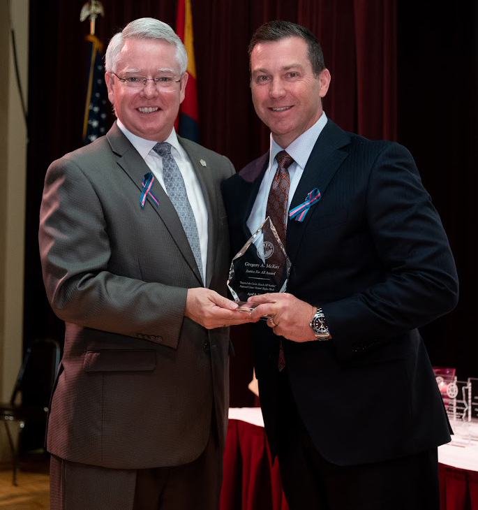 DCS Director recognized for his service to Arizona's children