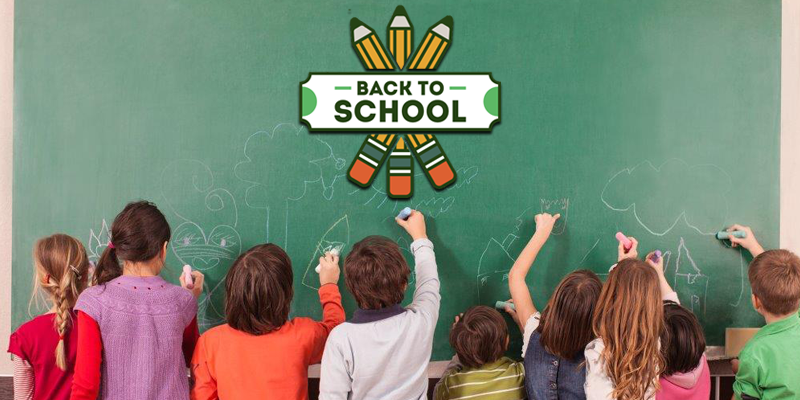 Back to School Web Graphic