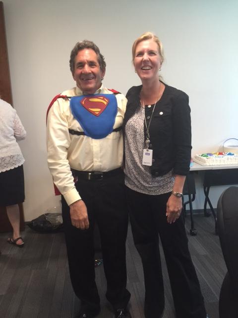 Photo of Mark Schwartz as Superman