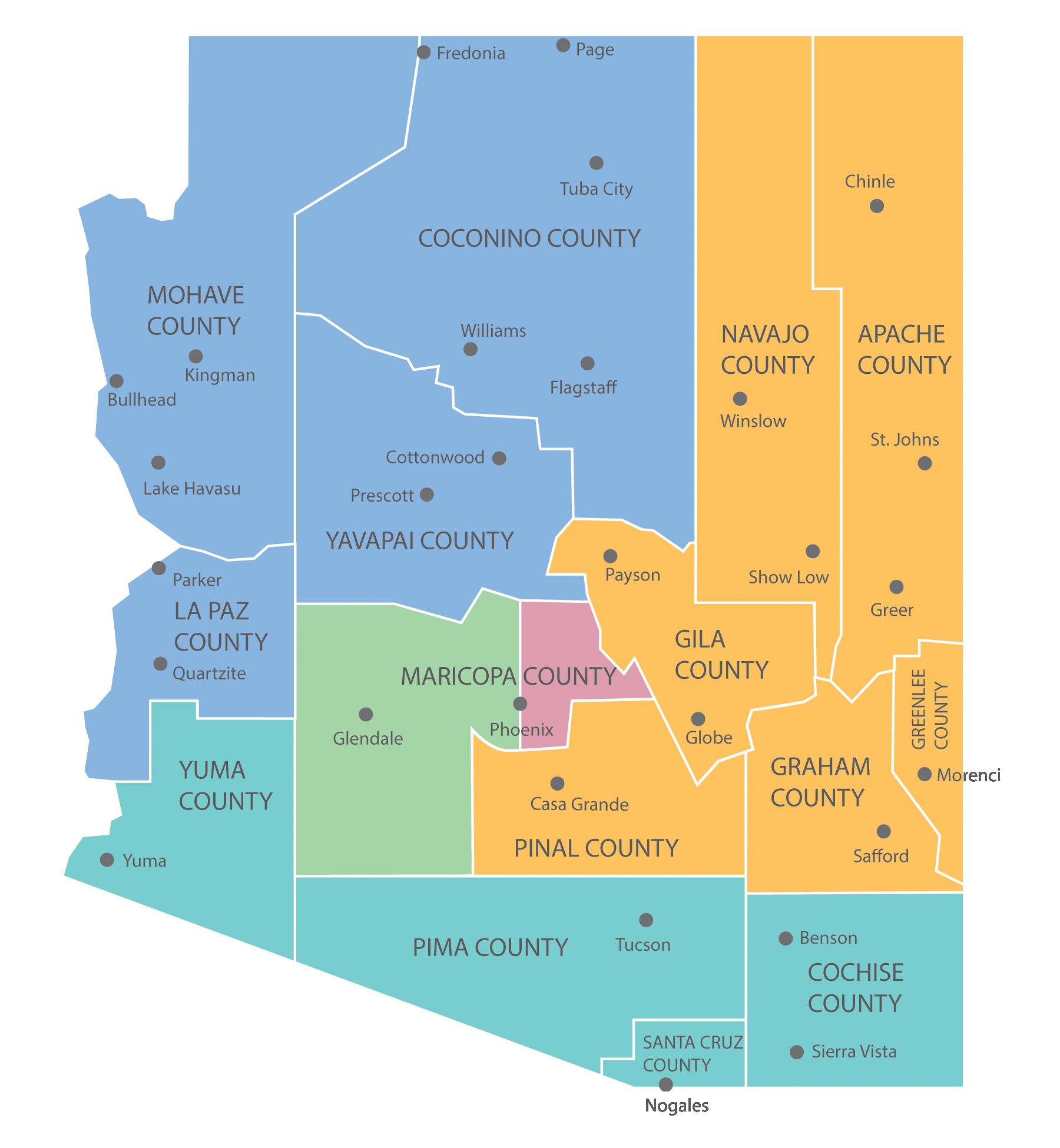 DCS Regional Map 2019