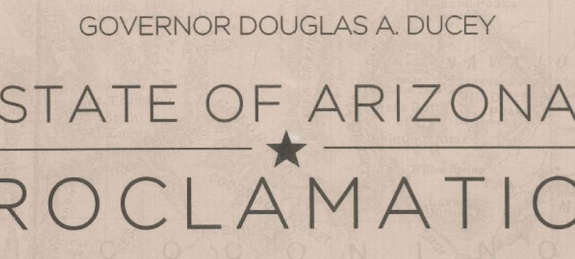 Arizona Proclamation